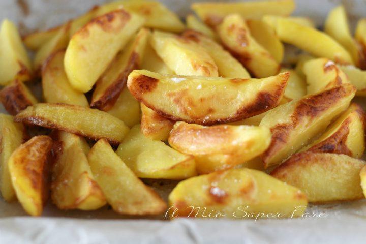 Sbianchire le patate per una cottura in forno il mio saper fare