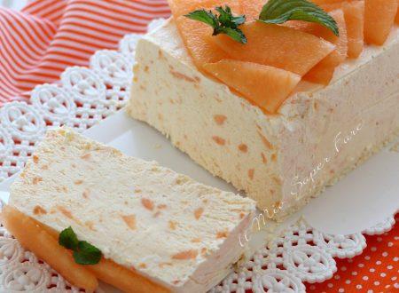 SEMIFREDDO al MELONE ricetta DOLCE senza cottura