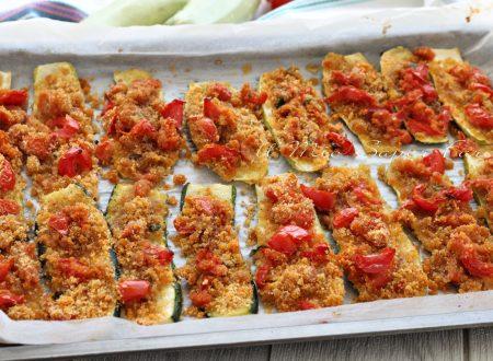 ZUCCHINE GRATINATE al FORNO ricetta calabrese