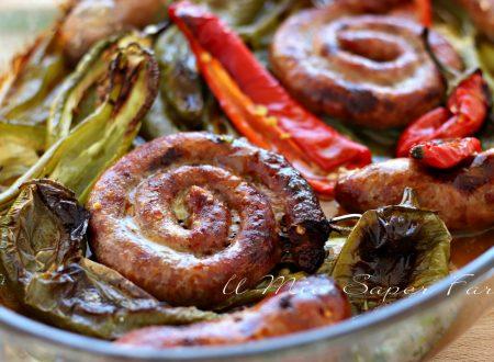 FRIGGITELLI e SALSICCIA al FORNO ricetta