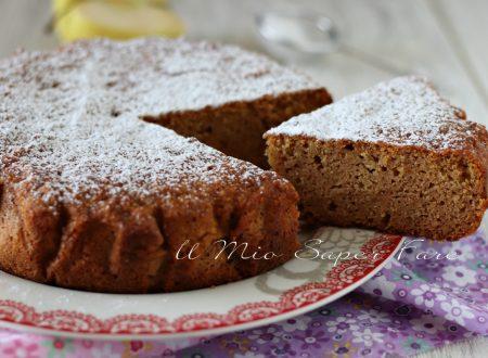 TORTA SEGATURA ricetta DOLCE alle mele SENZA farina