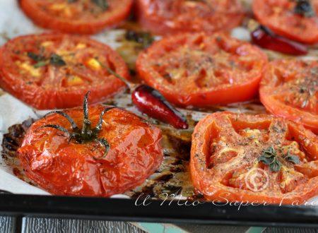 POMODORI al FORNO ricetta antipasto e contorno