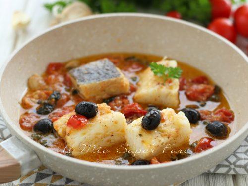 BACCALA' alla SICILIANA ricetta in padella