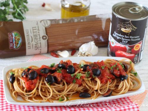 PASTA alla TURIDDU' ricetta siciliana