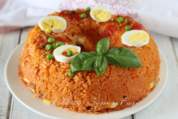 Sartù di riso ricetta timballo ripieno napoletano il mio saper fare