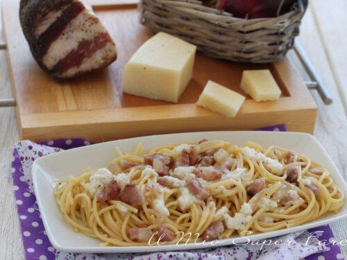 SPAGHETTI ALL'ABRUZZESE ricetta pasta veloce