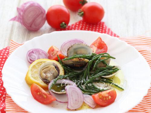 INSALATA ASPARAGI di MARE ricetta con salicornia