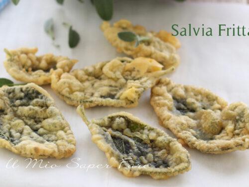 SALVIA FRITTA in PASTELLA ricetta antipasto