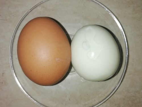 Uova sode con Bimby