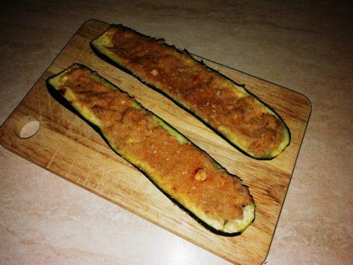 Barchette di zucchine e tonno con bimby