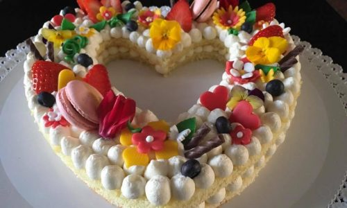 Cream tart – torta cuore