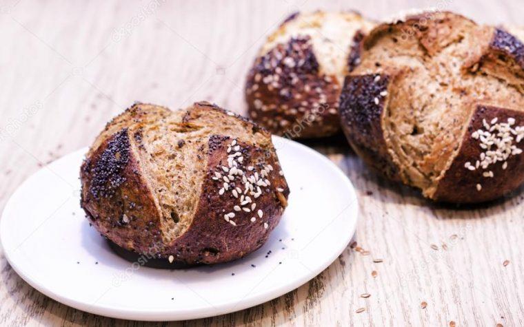 Panini Laugenbrot (panini bretzel )