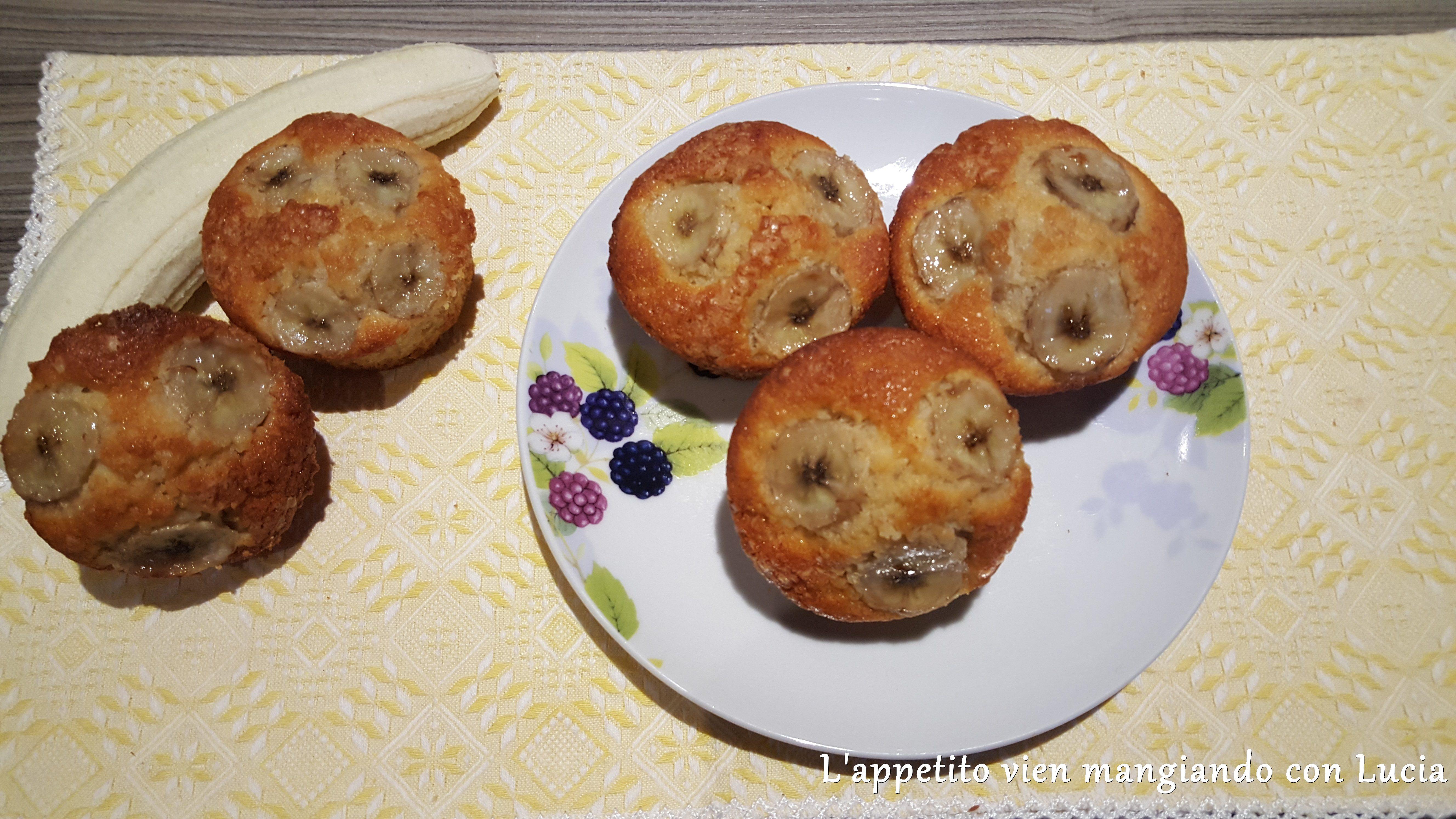 Muffin di banane | L'Appetito vien mangiando con Lucia