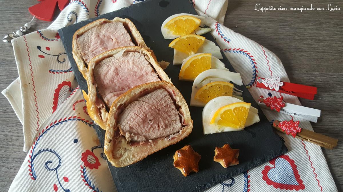Lonza di maiale in crosta
