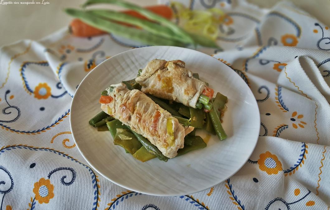 Involtini di tacchino con yogurt greco e verdure l for Cucinare yogurt greco