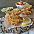 Sardine marinate al lime, impanate e fritte