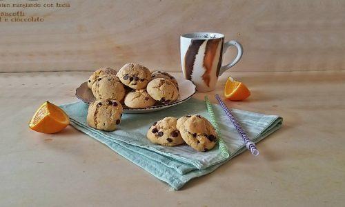 Biscotti yogurt e cioccolato
