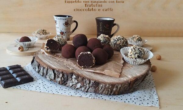 Tartufini  cioccolato e caffè