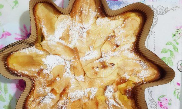 Torta soffice limone e mele
