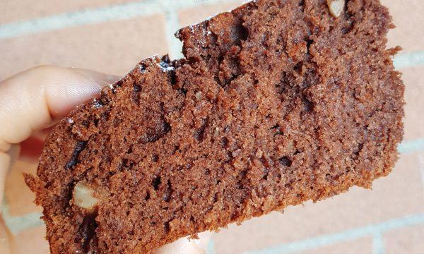 Torta al cioccolato con burro di arachidi e mandorle