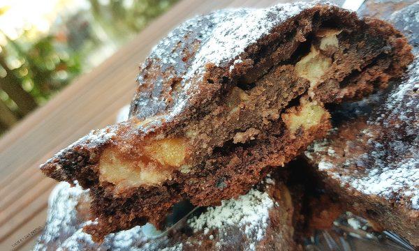 Torta al cacao fior di  pera