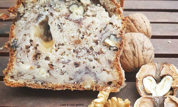 Plumcake radicchio noci gorgonzola e provola