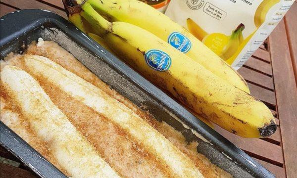 Banana bread con farina alla banana ed olio di cocco