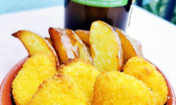 Nuggets di quaglia con maionese e patatine