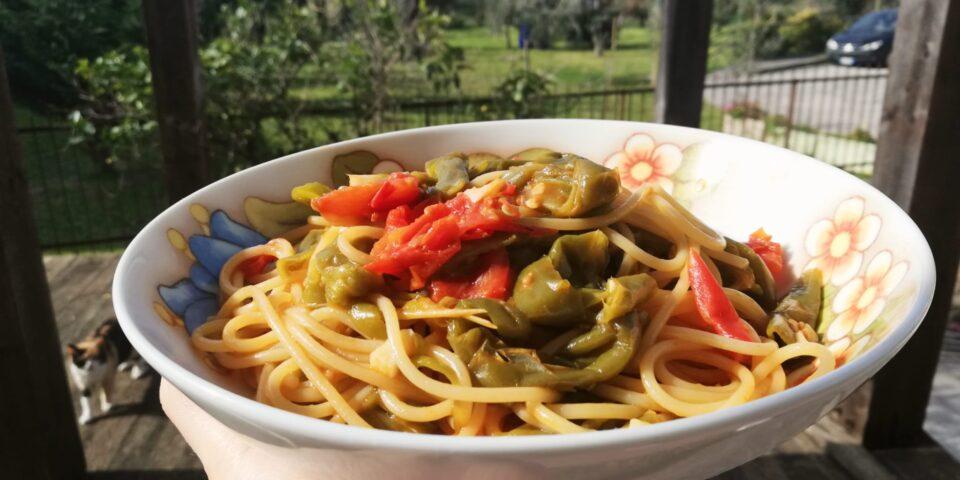 spaghetti con i friggitelli
