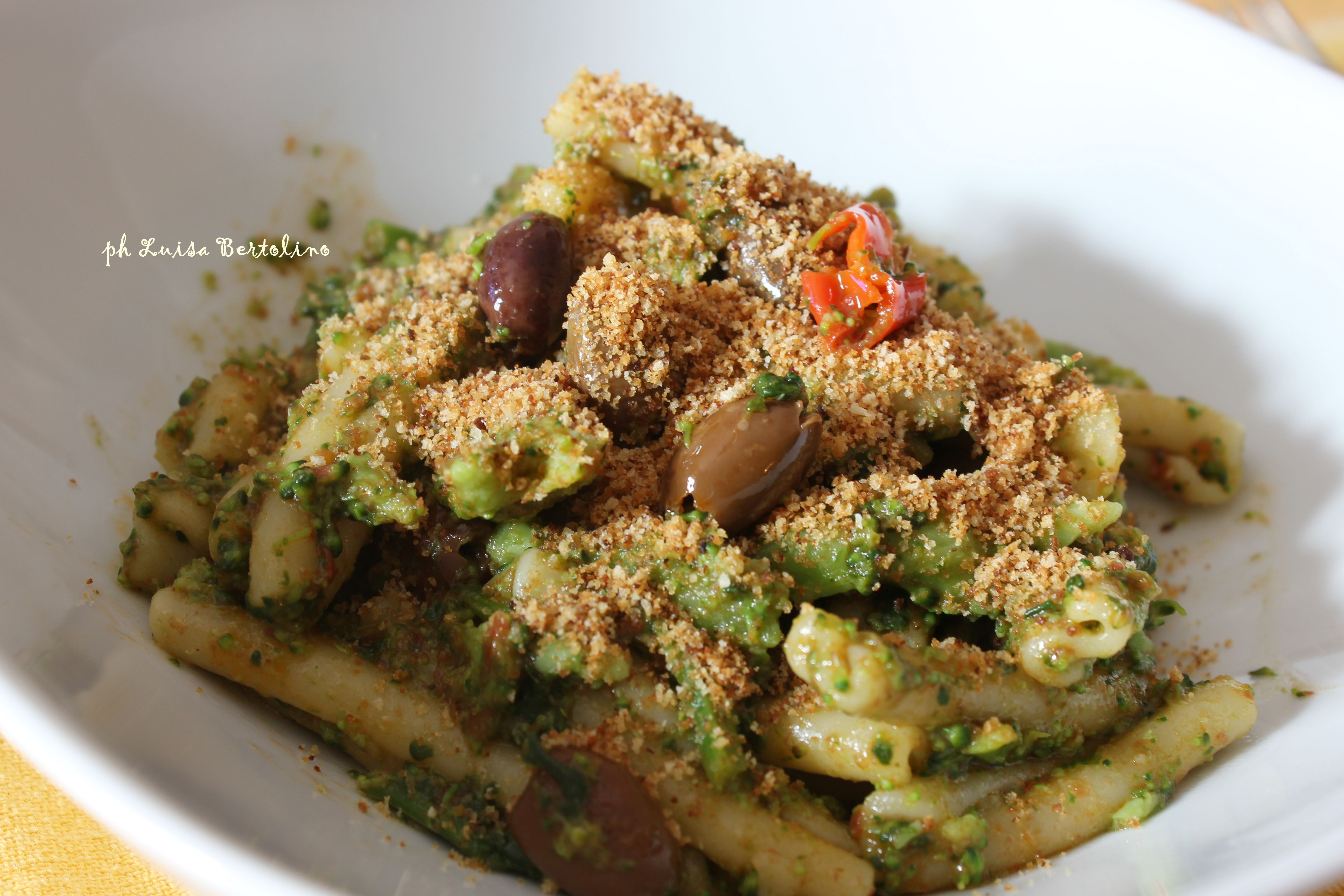 Pasta con i broccoli siciliani