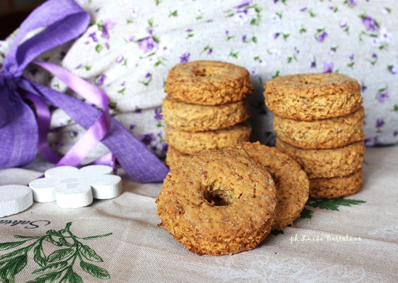 Biscotti con farina 1 e olio di girasole