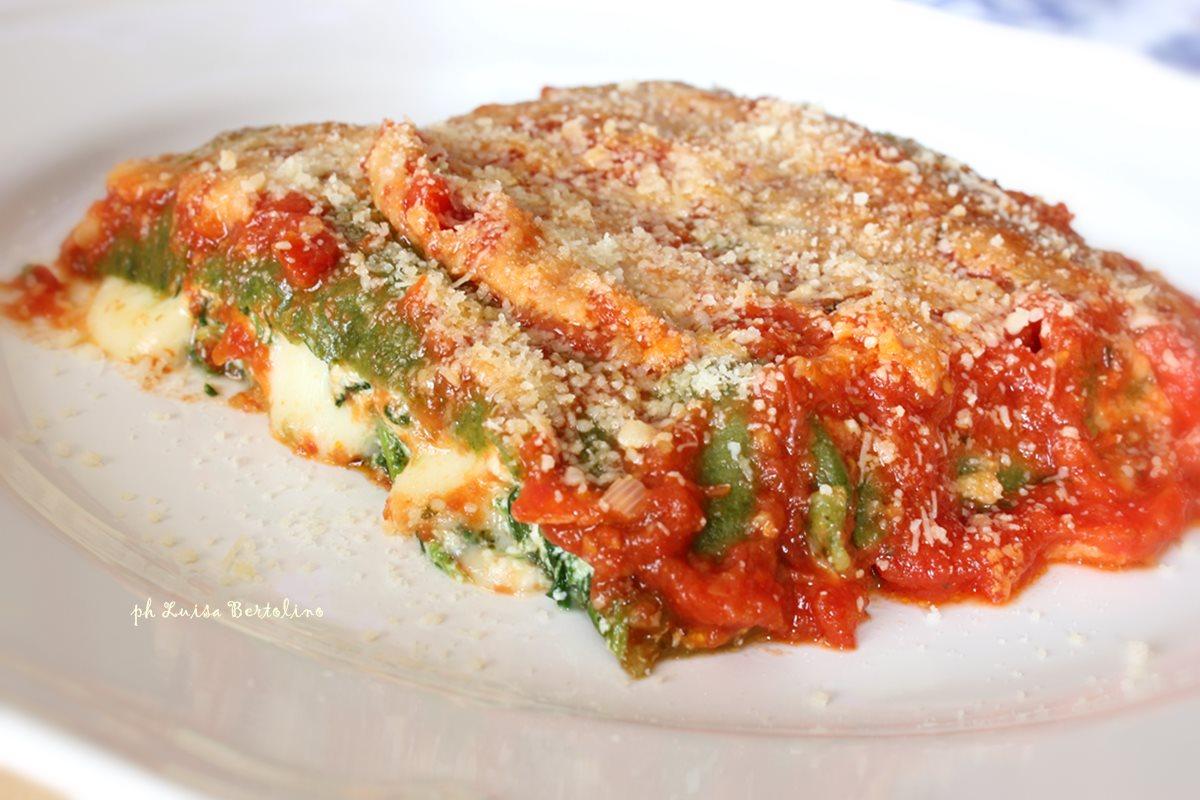 Cannelloni verdi al pomodoro