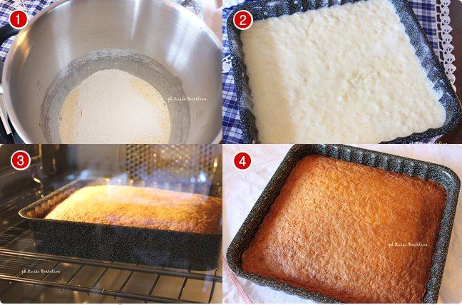 Torta al latte caldo sofficissima