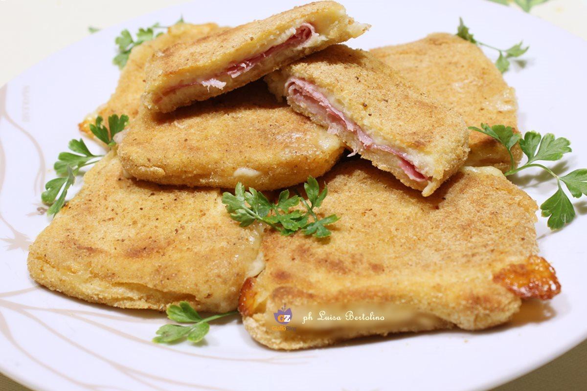 Mozzarella in carrozza al forno la magica cucina di luisa for Ricette mozzarella in carrozza al forno
