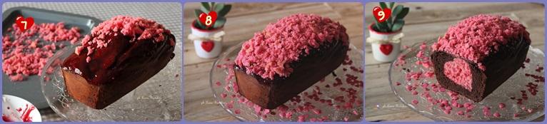 Plum-cake al cacao con dolce sorpresa