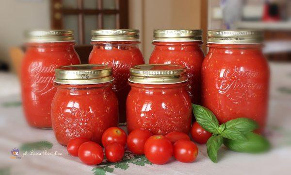 Salsa di pomodori datterini e ciliegini