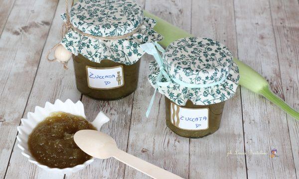 Confettura di zucchina verde ( zuccata)