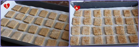 Biscotti integrali all'olio di oliva