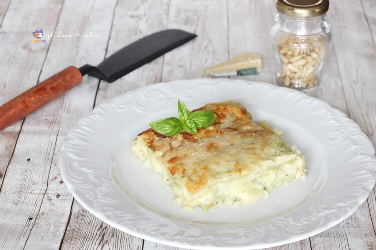 Lasagne Fresche Al Pesto Di Basilico La Magica Cucina Di