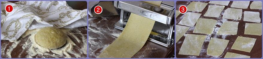 Lasagne fresche al pesto
