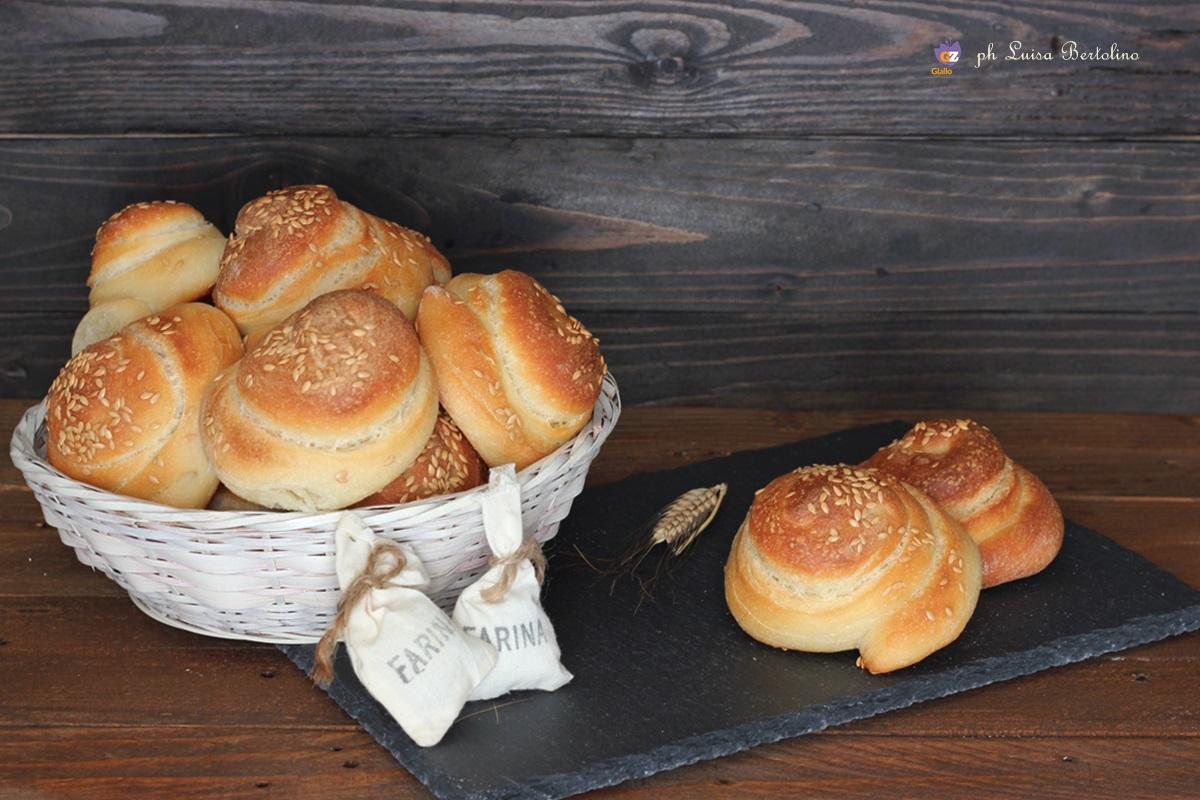 Chioccioline di pane con farina di farro