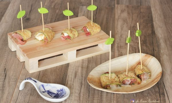 Rotolini di zucchina saporiti