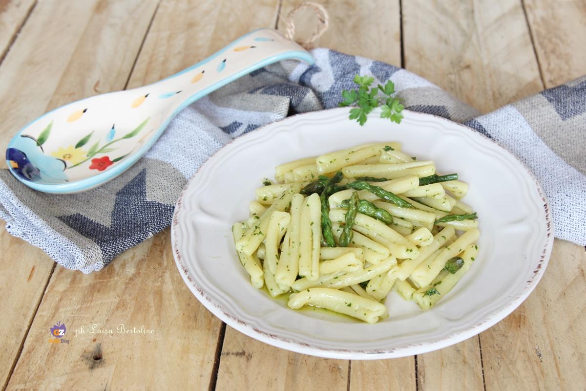 Pasta con gli asparagi selvatici