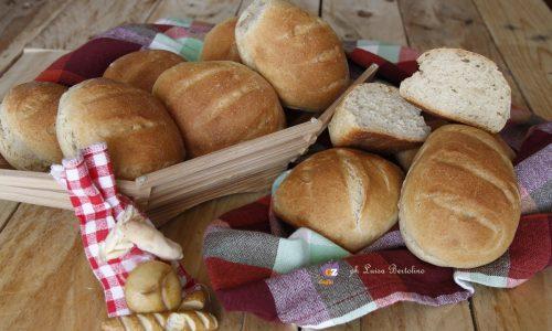 Panini integrali con grano saraceno