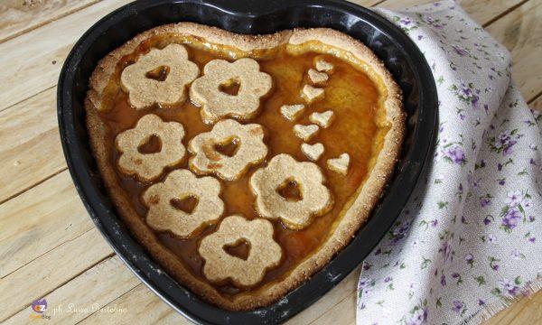Crostata all' albicocca con farina integrale