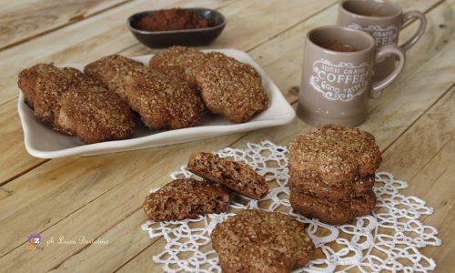 Biscotti integrali al cacao