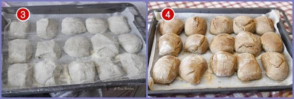 Bocconcini di pane con grano saraceno