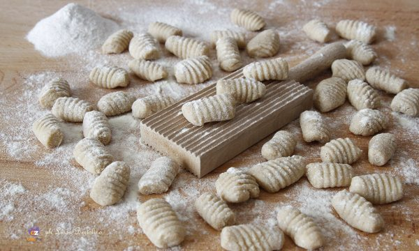 Gnocchi con farina  integrale