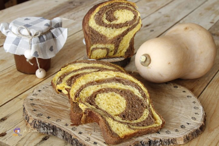 Pan brioche cioccolato e zucca