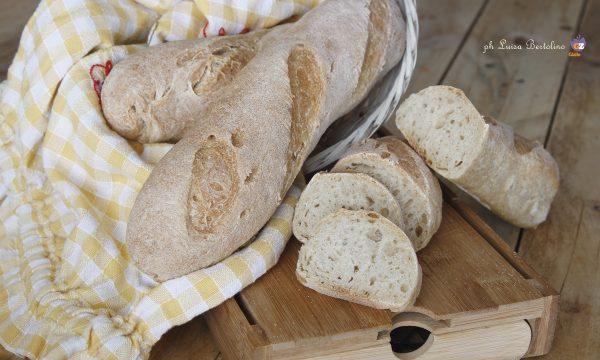 Filoni di pane con farina integrale